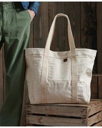 Superdry Dry Limited Edition Dry Tote Bag - Natural