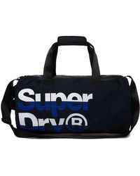 Superdry Nue Wave Lineman Barrel Bag - Blue