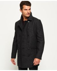 Superdry - Remastered Bridge Coat - Lyst