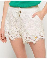 Superdry Mandy Lace Shorts - Multicolor