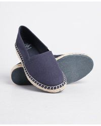Superdry Classic Wedge Espadrilles - Blue