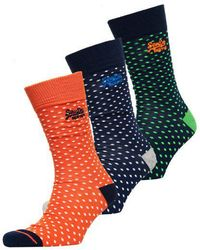 Superdry - City Sock Triple Pack Boxed - Lyst
