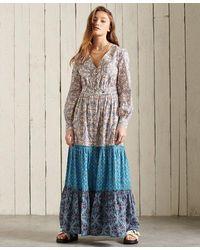 Superdry Bohemian Maxi Dress - Multicolor