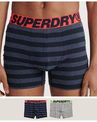 Superdry Pack de 2 calzoncillos bóxer de algodón orgánico - Amarillo