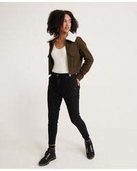 Superdry Slim Utility Trousers - Black