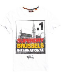 Superdry - Box Photo City Brussels T-shirt - Lyst
