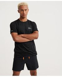 Superdry Active Training Short Sleeve T-shirt - Black