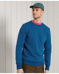 Superdry Orange Label Classic Crew Sweatshirt - Blue