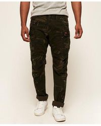 Superdry Core Parachute Cargo Trousers - Green