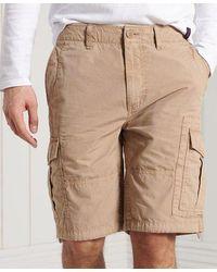 Superdry Pantalones cortos militares Parachute - Neutro