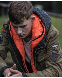 Superdry - Rookie Limited Edition Military Jacket - Lyst