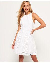 Superdry Camylla Racer Dress - White