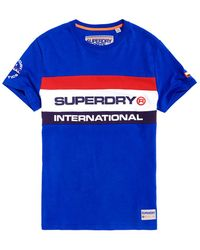 Superdry - Trophy Tri Colour T-shirt - Lyst