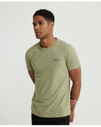 Superdry Organic Cotton Lite T-shirt - Green