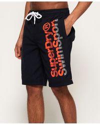 Superdry Boardshorts - Blue