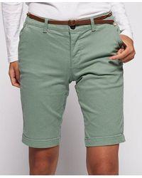 Superdry Chino City Shorts - Green