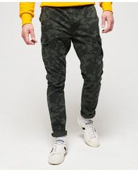 Superdry Surplus Goods Cargo Trousers - Grey