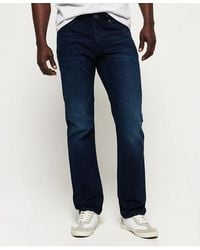 Superdry Straight Jeans - Blue