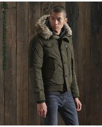 Superdry Chinook Rescue Bomber Jacket - Multicolour