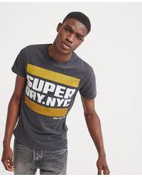 Superdry - Nyc Tab T-shirt - Lyst