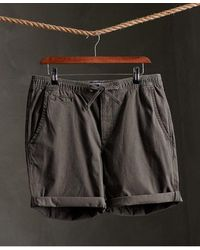 Superdry Pantalones cortos chinos Sunscorched - Negro