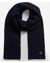 Superdry Fijne Luxe Sjaal - Blauw