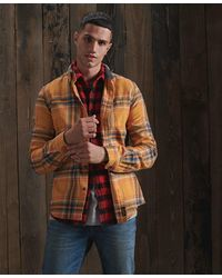 Superdry Heritage Lumberjack Overhemd - Geel