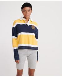 Superdry Melina Rugby Shirt - Yellow
