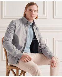 Superdry Iconic Harrington Jacket - Gray