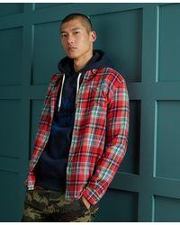 Superdry Heritage Lumberjack Overhemd - Rood