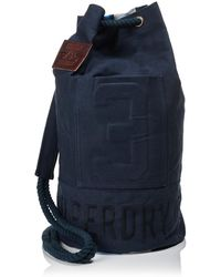 Superdry Academy Duffle Bag - Blue