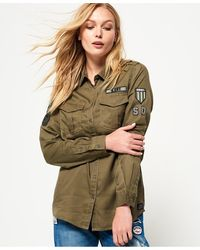 Superdry Military Shirt - Green