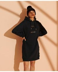 Superdry Established Sweat Dress - Black