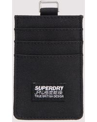 Superdry Fabric Kaarthouder - Zwart