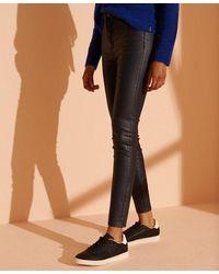 Superdry High Rise Skinny Jeans - Black