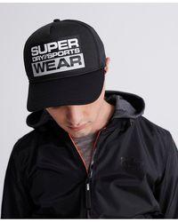 Superdry Gorra Sport - Negro