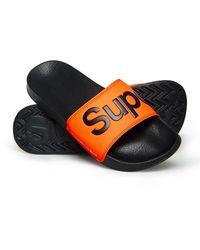 Superdry - Pool Sliders - Lyst