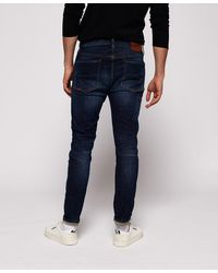 Superdry Travis Skinny Jeans - Blue