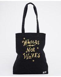 Superdry NEW Women/'s Holo Repeat Shopper Bag Fluro Pink BNWT Black