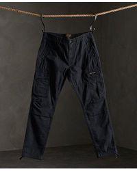 Superdry Pantalones cargo Core Parachute - Gris