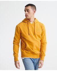 Superdry Denim Goods Co Loopback Hoodie - Yellow