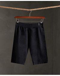 Superdry Desert Bike Shorts - Black