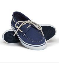 Superdry Ocean Deck Shoes - Blue