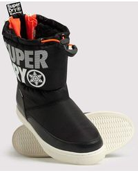 Superdry Japan Edition Snow Boots - Black