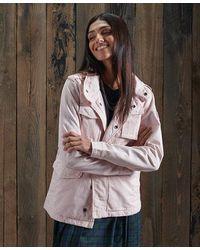 Superdry Camari Rookie Jacket - Pink