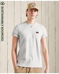 Superdry Organic Cotton Workwear Pocket T-shirt - Grey