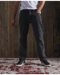 Superdry Heritage Straight Jeans - Black