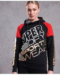 Superdry Street Sports Hoodie - Black