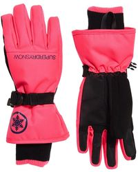 Superdry Ultimate Snow Service Gloves - Pink