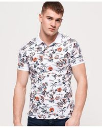 Superdry City Surf Polo Shirt - White